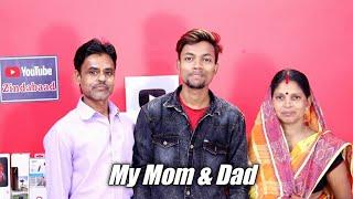 Mere Mummy & Papa 👪☺️