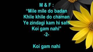 Mile Mile Do Badan - Blackmail - Full Karaoke