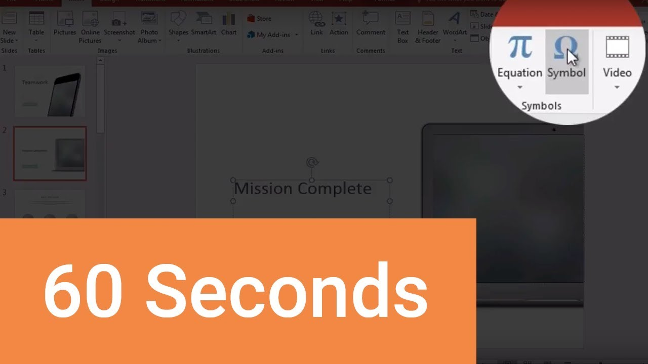 How to Insert a Check Mark Symbol in PowerPoint