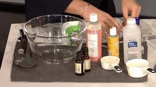 Prepara tu propio gel Antibacterial Casero