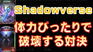 【Shadowverse実況】ぴったり対決