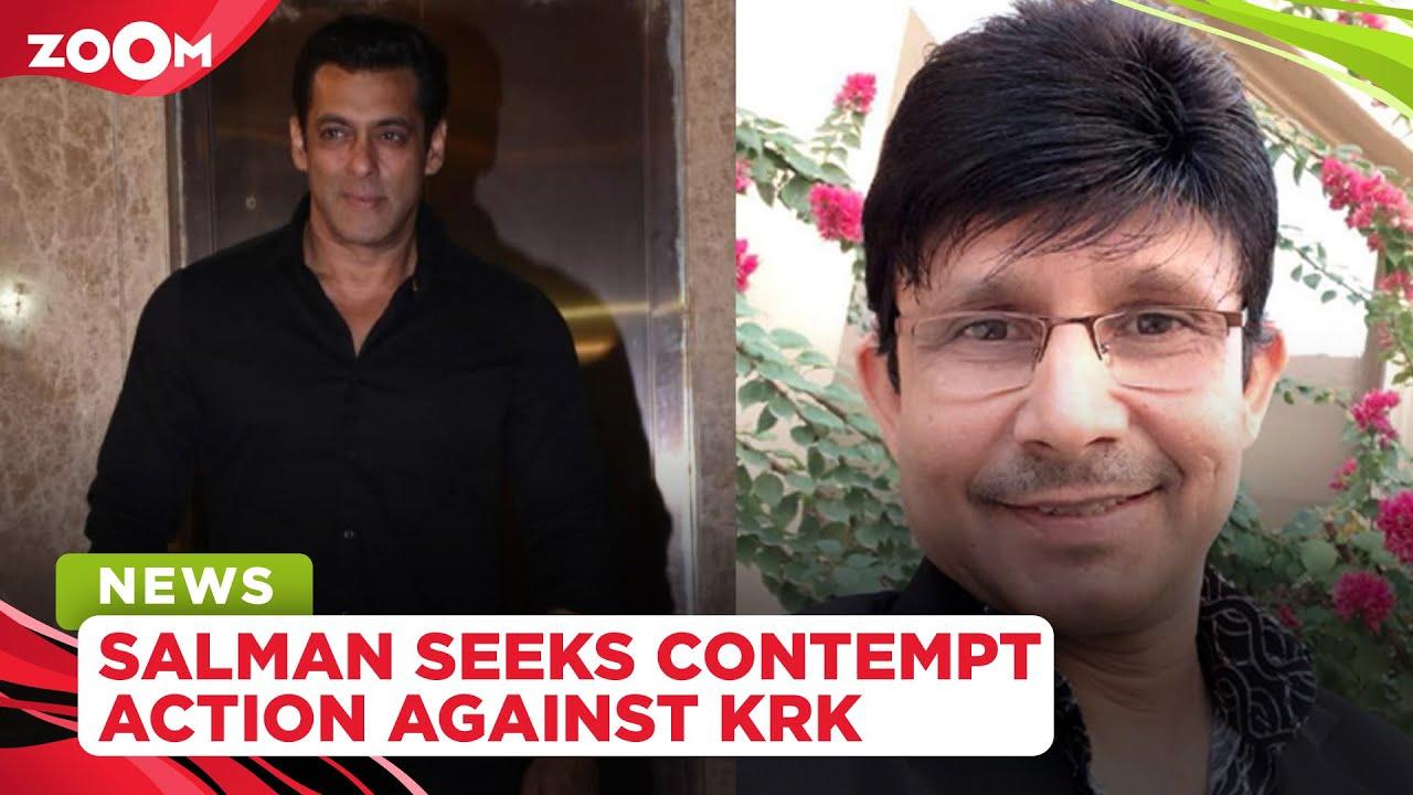 Salman Khan seeks contempt action against Kamaal R Khan aka KRK for his defamatory remarks