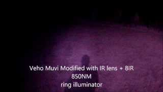 Veho Muvi HD Pro 1080P Infrared Police Night Vision IR Body Security Camera - GoPro Contour Scorpion