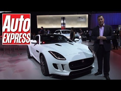Jaguar F-Type at the LA Motor Show