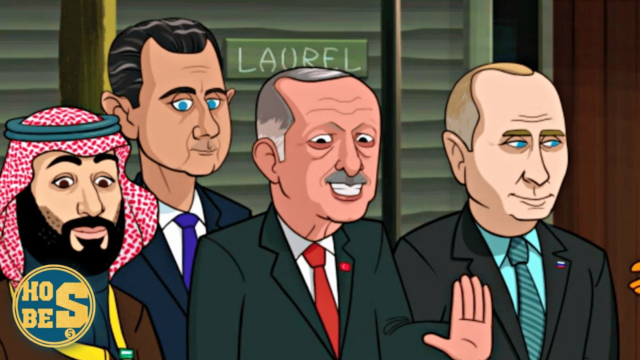 Recep Tayyip Erdoğan'ın Gözüktüğü Donald Trump Çizgi Filmi
