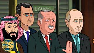 Recep Tayyip Erdoğanın Gözüktüğü Donald Trump Çizgi Filmi