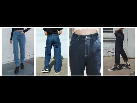 Brandy Melville Jeans || JEANS || MOM JEANS OUTFITS