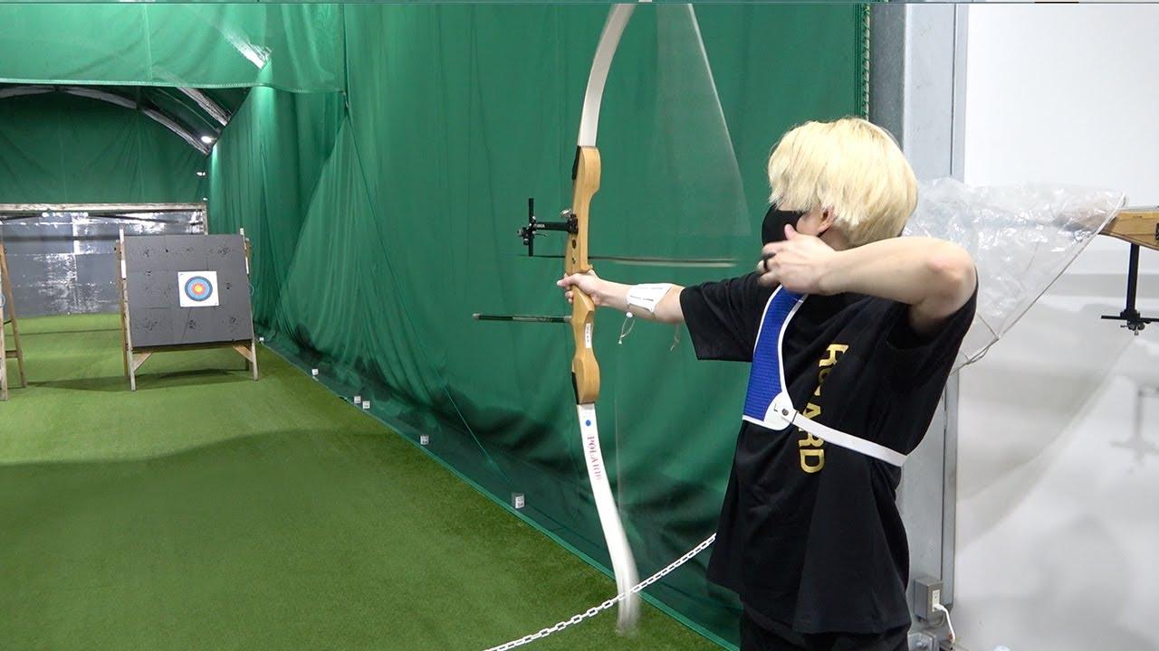【弓引いてズドンッ!】ネクステでアーチェリー対決したらヒカルが驚異の才能を見せつけたww