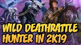 Wild Deathrattle Hunter In 2K19 | Rastakhan's Rumble | Hearthstone