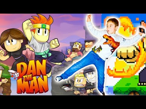 La 1ère vidéo Gaming de Swan : Dan The Man sur iPhone !