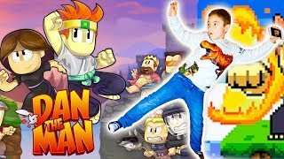 La 1ère vidéo Gaming de Swan : Dan The Man sur iPhone !