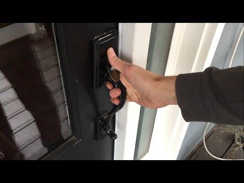Replacing Door Knob & Handle Assembly (Kwikset Handleset)