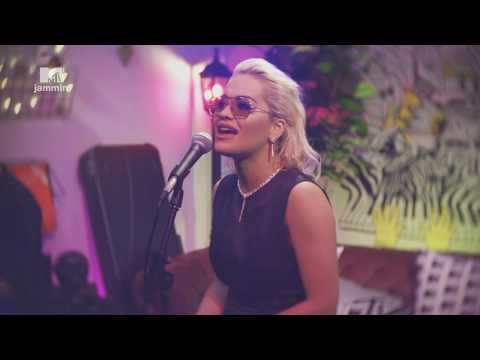 """Rita Ora performs a stripped - down version of """"Only Want You"""" (MTV Jammin')"""