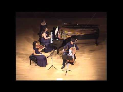 Mendelssohn Klaviertrio Nr. 1 d-moll, op. 49. 1. Satz: molto allegro agitato