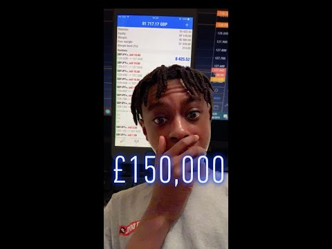 17 Year Old Forex Trader Turns £2,800 into £150,000 in under 72HRS