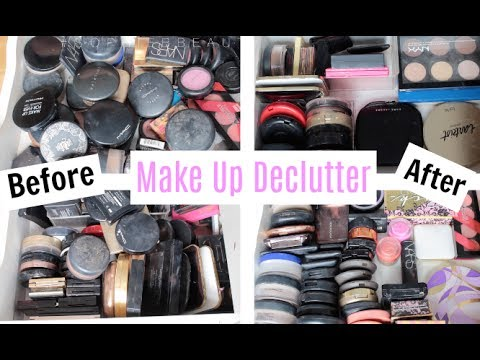Make Up Declutter Series | Episode Two : Powders, Blushes & Bronzers | SophieBBeauty