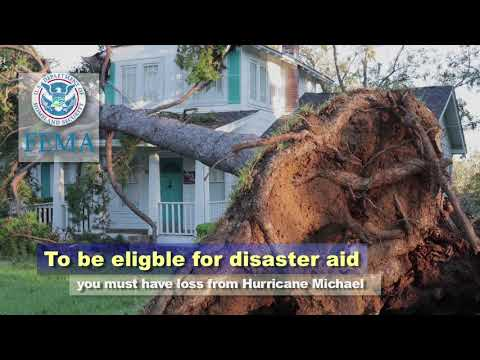 FEMA Assistance for Hurricane Michael