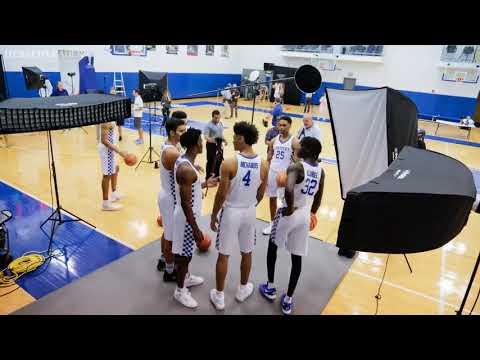 UK Men's Basketball Media day 2017