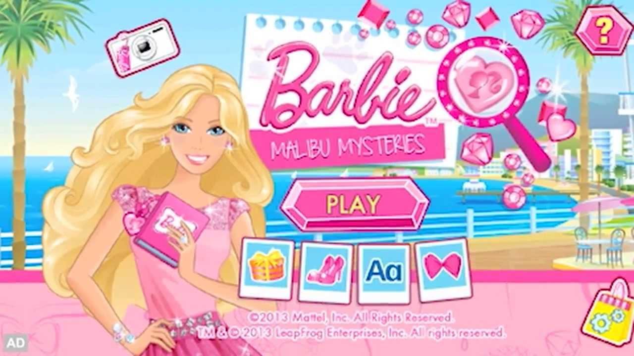 LeapFrog Game/App: Barbie Malibu Mysteries