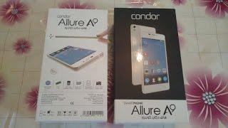 مراجعة لهاتف كوندور Condor Allure A9 فتح العلبة، المحتويات، التصميم...