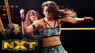 The Kabuki Warriors vs. Tegan Nox & Dakota Kai - WWE Women's Tag Title Match: WWE NXT, Oct. 30, 2019