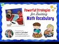 Powerful Strategies for Building Math Vocabulary
