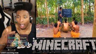 Etika Gets The Best Troll Ever (Etika Loves Minecraft 101) [Etika Stream Highlight]