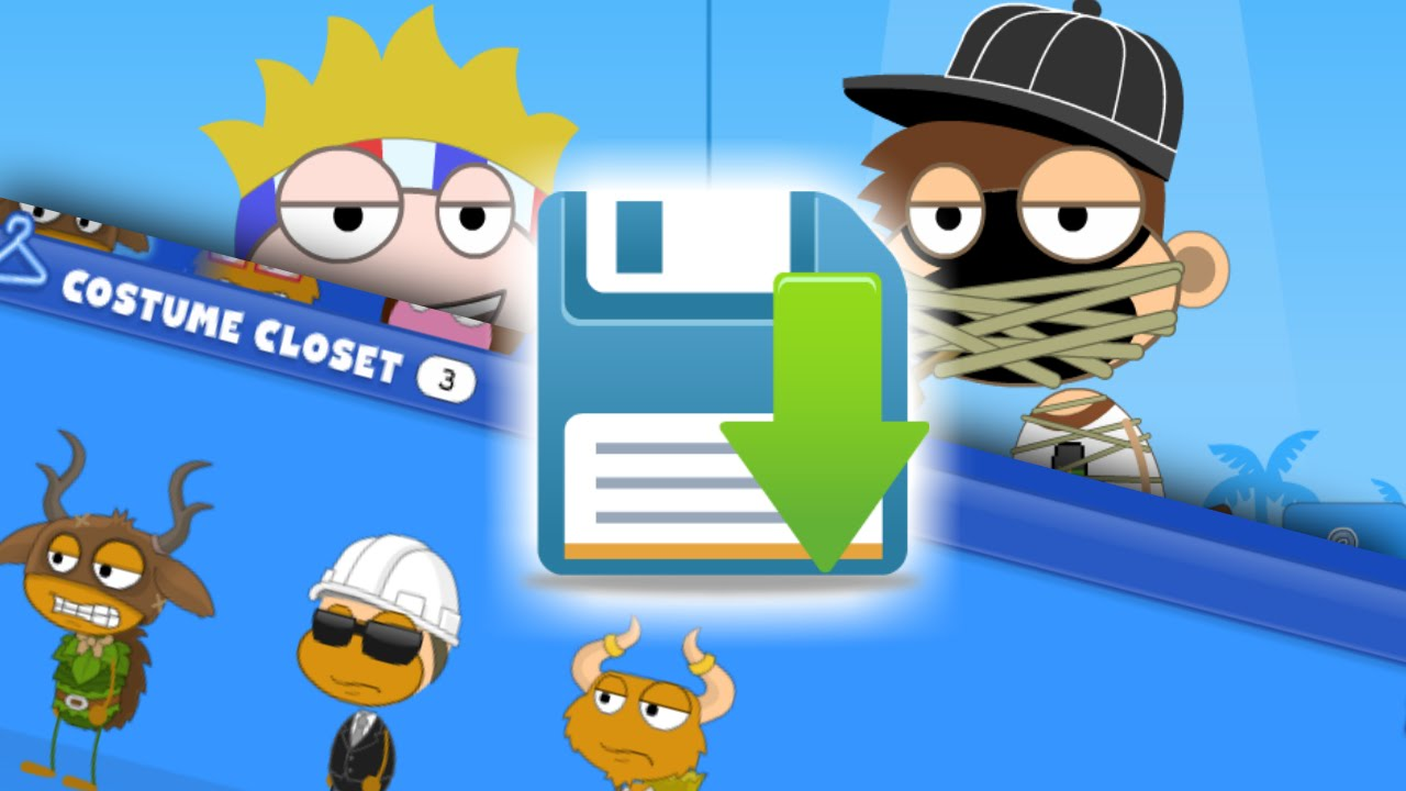 Poptropica glitches cheats how to save costumes more for non members youtube