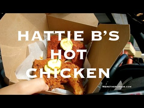 Nashville's Hot Chicken Hattie B's Super Spicy Chicken Tenders!