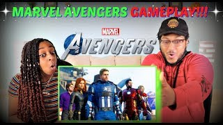 "Marvel's Avengers ""A-Day Prologue"" Gameplay REACTION!!!"