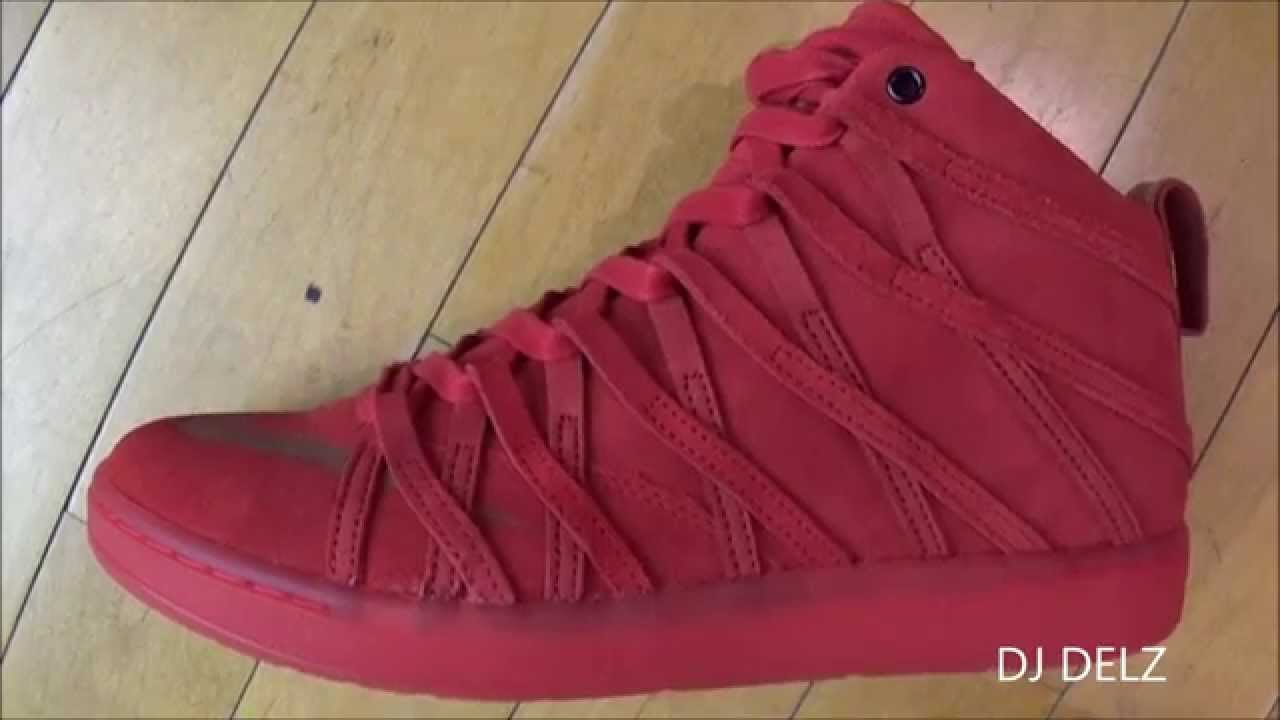 new styles e8cba 2a7cc Nike KD 7 Lifestyle Red Suede Red October Sneaker Review With  DjDelz   HotOrNot - YouTube