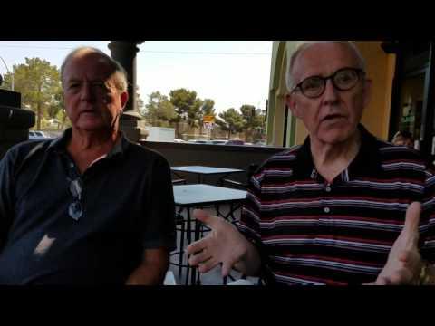 Jack Todd, Tom Fitzgerald chat about local caddie development program