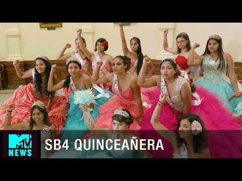 SB4 (Senate Bill 4) Law Quinceañera Protest | MTV News