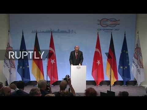 LIVE: G20 Summit in Hamburg