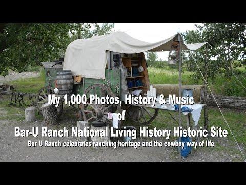 Bar U Ranch, living history museum, near Banff Canada
