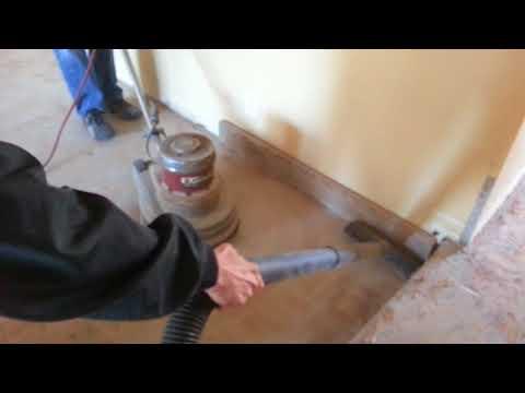 Removing Glue Down Engineered Hardwood Flooring Pt 3