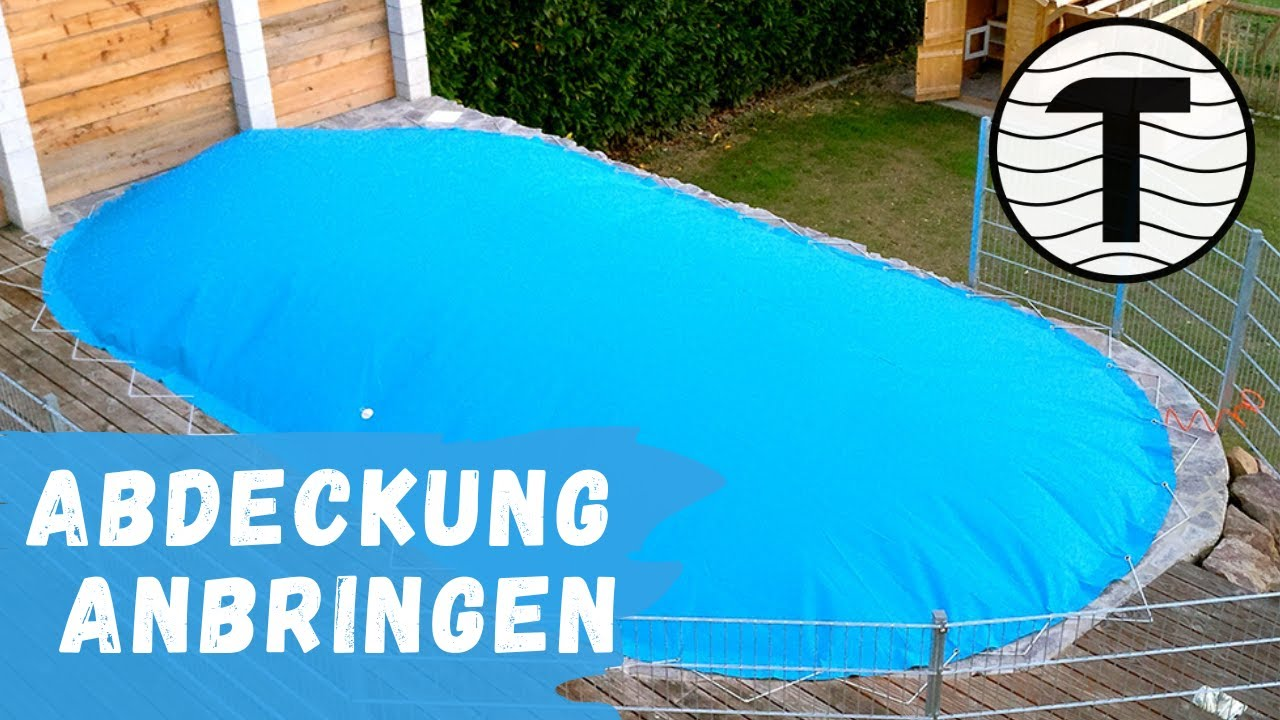 Future Pool Abdeckung Protect Poolabdeckung Luftkissen Poolsana Air Protect Anbringen Ganz Easy