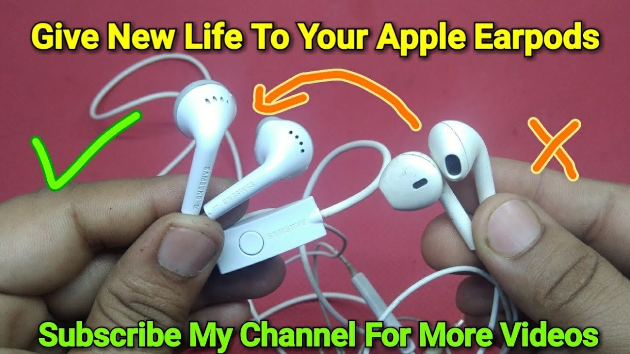 Give New Life To Your Apple Earpods Broken Wire Replacement Youtube