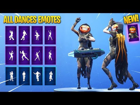 *NEW* NIGHTSHADE Female Tomato Head  SKIN SHOWCASE WITH ALL DANCESEMOTES! Fortnite Battle Royale