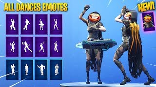 "*NEW* NIGHTSHADE ""Female Tomato Head"" SKIN SHOWCASE WITH ALL DANCES/EMOTES! Fortnite Battle Royale"