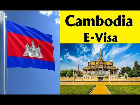 Cambodia E-Visa Online Apply 2020