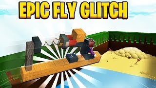 EPIC FLY GLITCH In Build A Boat For Treasure In Roblox