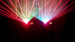JDX ft Kelly Q - You and Me (Dubmix) RGB Laser Show with Pangolin QuickShow