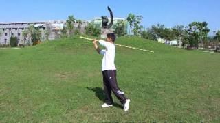 武術棍教學-舞花 / Gunshu: Spinning - WuKungFu