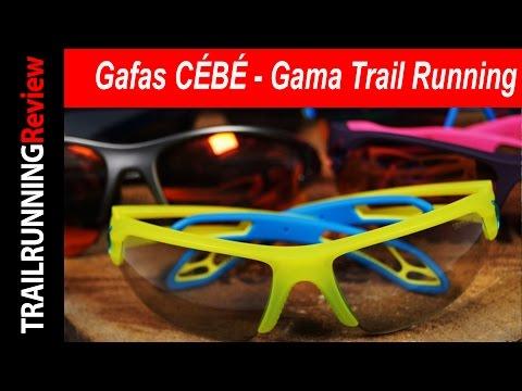 Gafas CÉBÉ - Gama Trail Running
