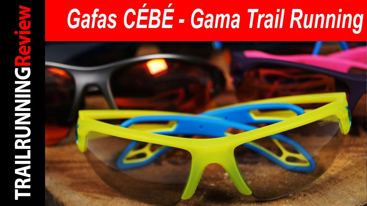 e58a6bedd Gafas CÉBÉ - Gama Trail Running - YouTube