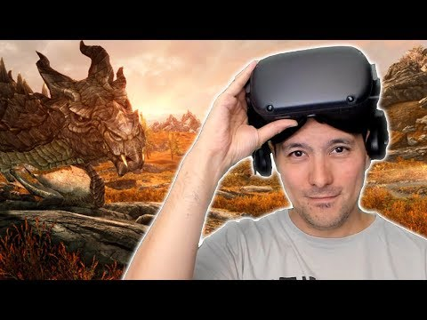 Can The Oculus Quest Replace A PCVR Headset? Trying Out SteamVR Streaming Via Virtual Desktop!