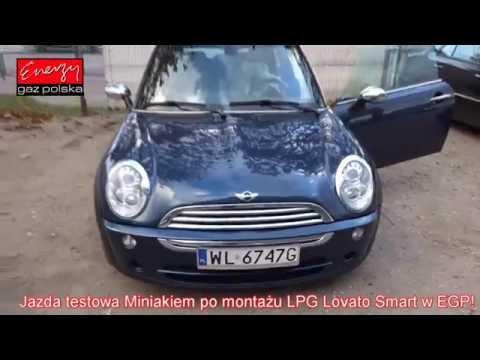 Jazda próbna testowa: Test LPG Mini Cooper z 1.6 2005r w Energy Gaz Polska na gaz Lovato Smart
