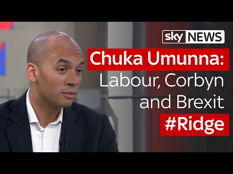 Chuka Umunna : Labour, Corbyn and Brexit on #Ridge
