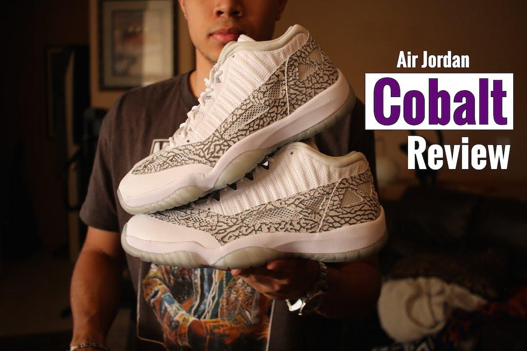 538b3a341ce Air Jordan 11 IE Low Cobalt Review - YouTube